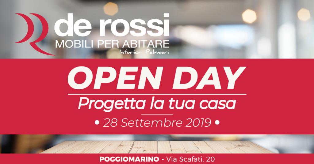 De Rossi Arredamenti presenta l'OPEN DAY